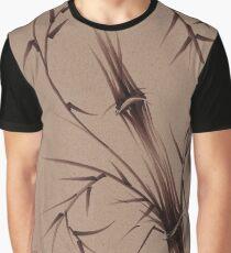"""As One""  Original brush pen sumi-e bamboo drawing/painting Graphic T-Shirt"