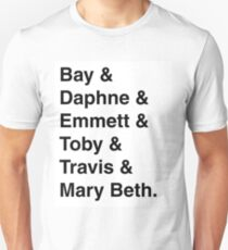 """""""Switched at Birth"""" Characters - the kids Unisex T-Shirt"""