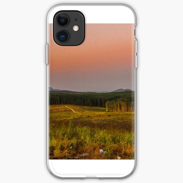 glasshouse mountains iPhone Soft Case