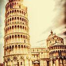 Parrocchie di Pisa and Tower by FelipeLodi