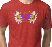 PLUR Sunflower Tri-blend T-Shirt