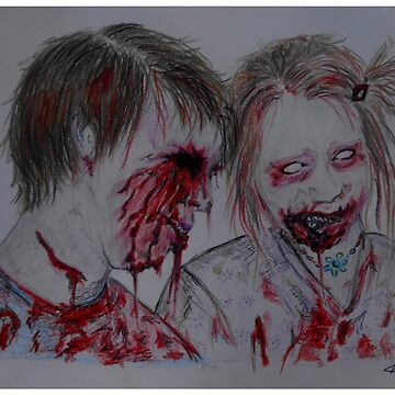 Zombie Kids by BlueWhippet