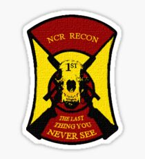 NCR 1st Recon Sticker & Tshirt Sticker