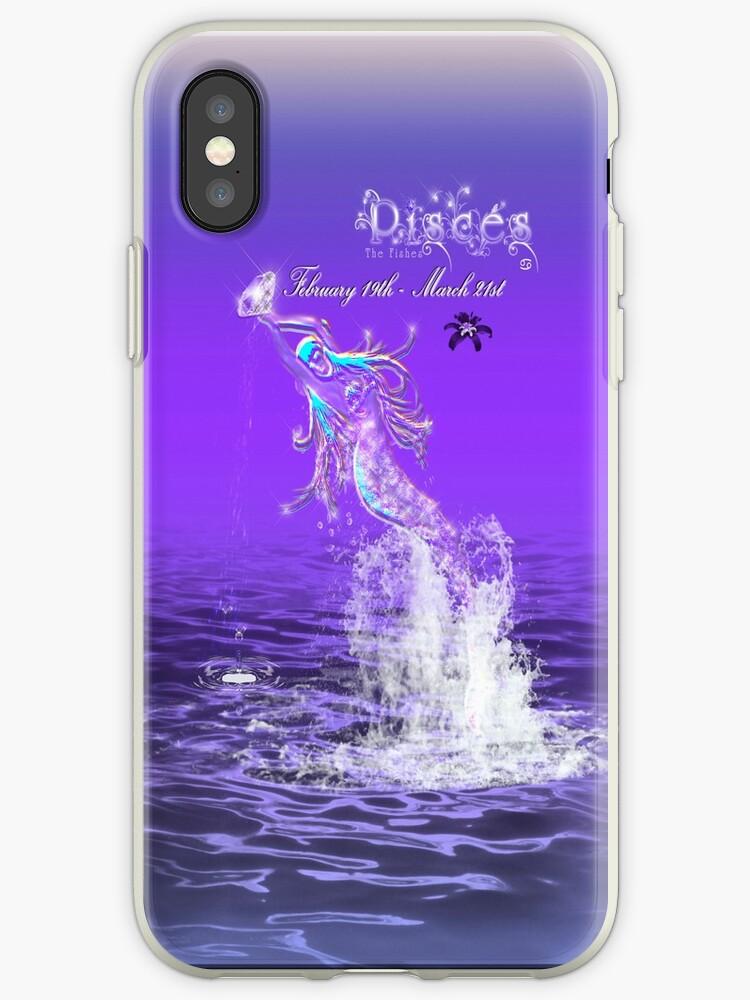 Zodiak Iphone/Ipad Cover: Pisces by D Johnson-Dixon