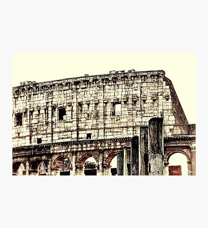 Coliseum Walls Photographic Print