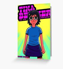 Tina vs. the Universe Greeting Card