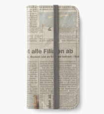 Newspaper iPhone Wallet