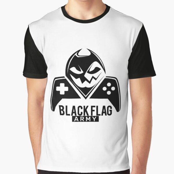 Black army Graphic T-Shirt