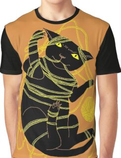 Crafty Cat Meant to do That Graphic T-Shirt
