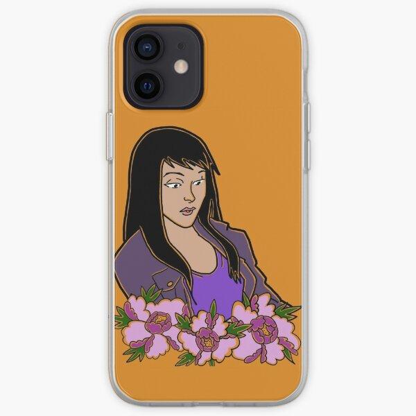 Kate Bishop Peonies iPhone Soft Case