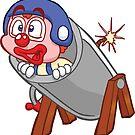 HeinyR- Clown in a Cannon by cadellin