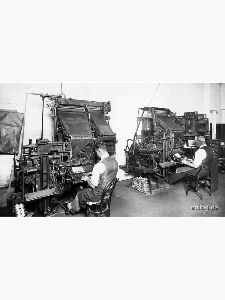 Linotype Setzmaschinen von epilog-de