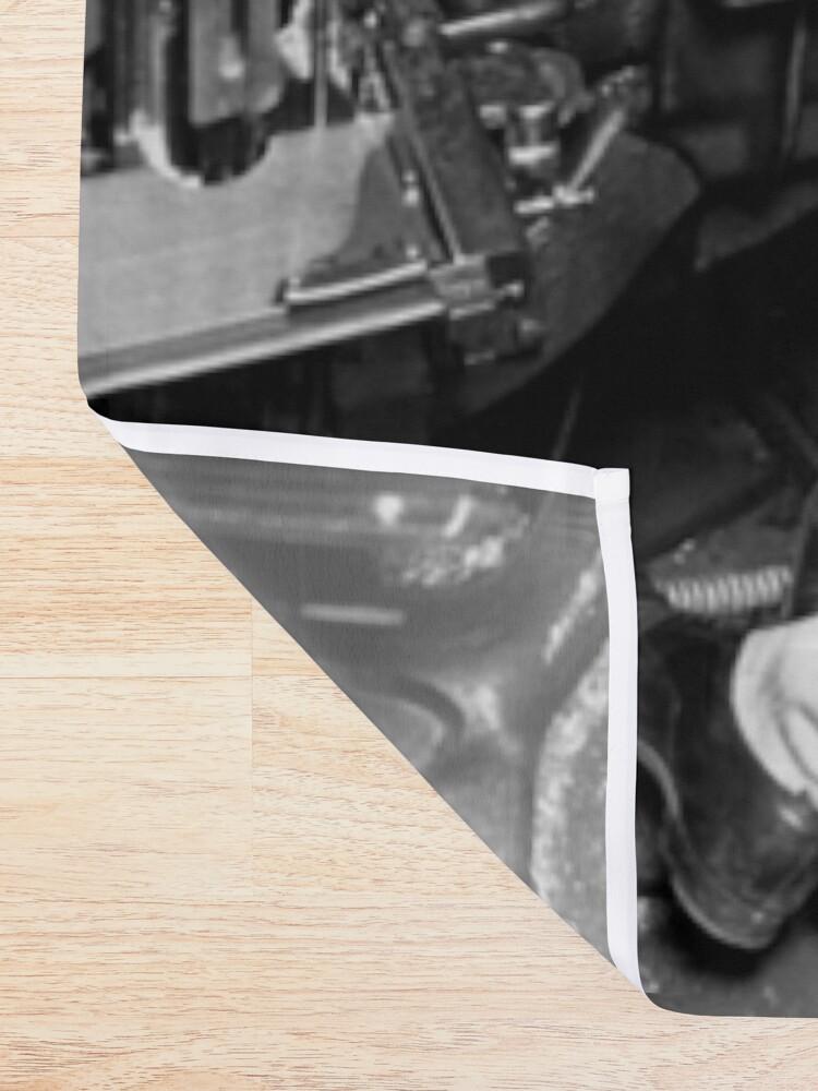 Alternative Ansicht von Linotype Setzmaschinen Duschvorhang