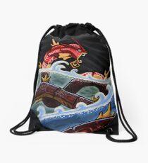 THE RED GYARADOS Drawstring Bag