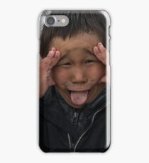 Making Faces iPhone Case/Skin