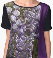 Wisteria Bloom Women's Chiffon Top