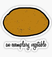 An Exemplary Vegetable Sticker