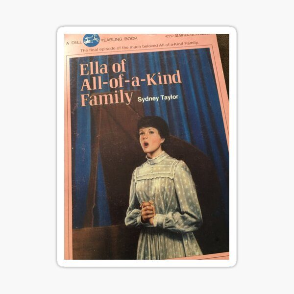 Cover of Ella of All-of-a-Kind Family Sticker