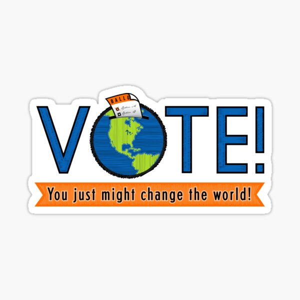 VOTE! Sticker