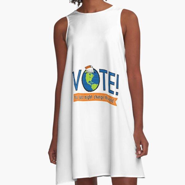 VOTE! A-Line Dress