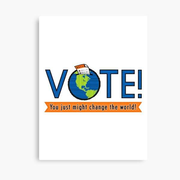 VOTE! Canvas Print
