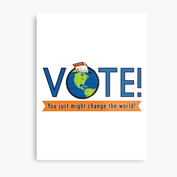 VOTE! Metal Print