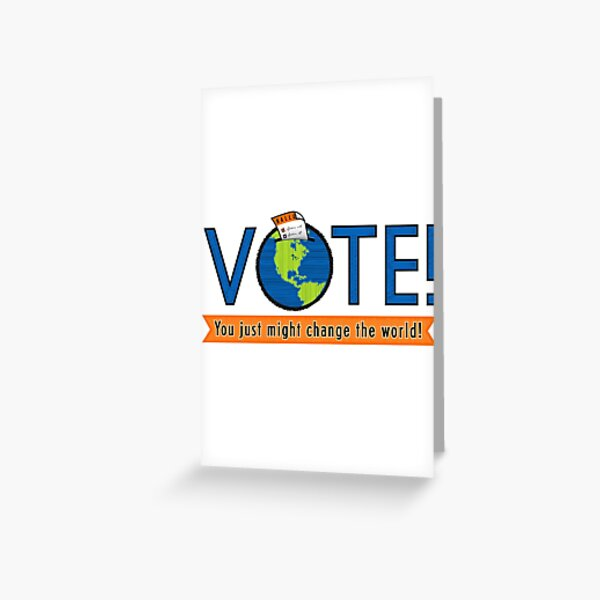 VOTE! Greeting Card