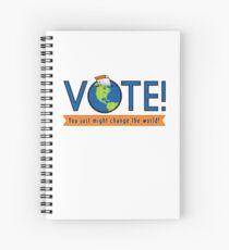 VOTE! Spiral Notebook