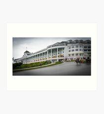 Grand Hotel mackinaw Island Art Print