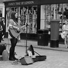 Canterbury - Busking by rsangsterkelly