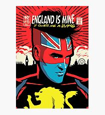 Post-Punk Comics   England Is Mine Photographic Print