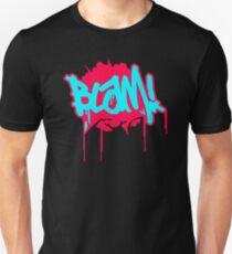 Blam Blam Comic Slogan T-Shirt