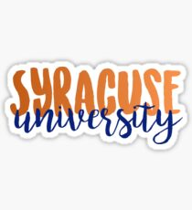 Syracuse University Sticker