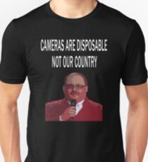 ken bone cameras are disposable Unisex T-Shirt