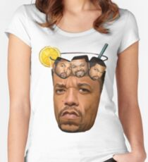 Ice T & Ice Cube Women's Fitted Scoop T-Shirt