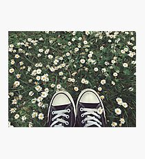 converses in spring Photographic Print