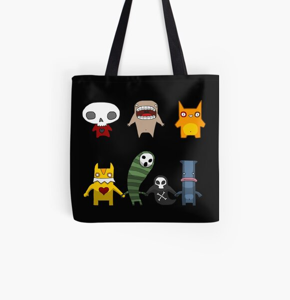Monster Menagerie All Over Print Tote Bag