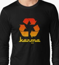 Recycle KARMA Long Sleeve T-Shirt