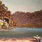 Up the Creek, Patonga, NSW by Michael Jones