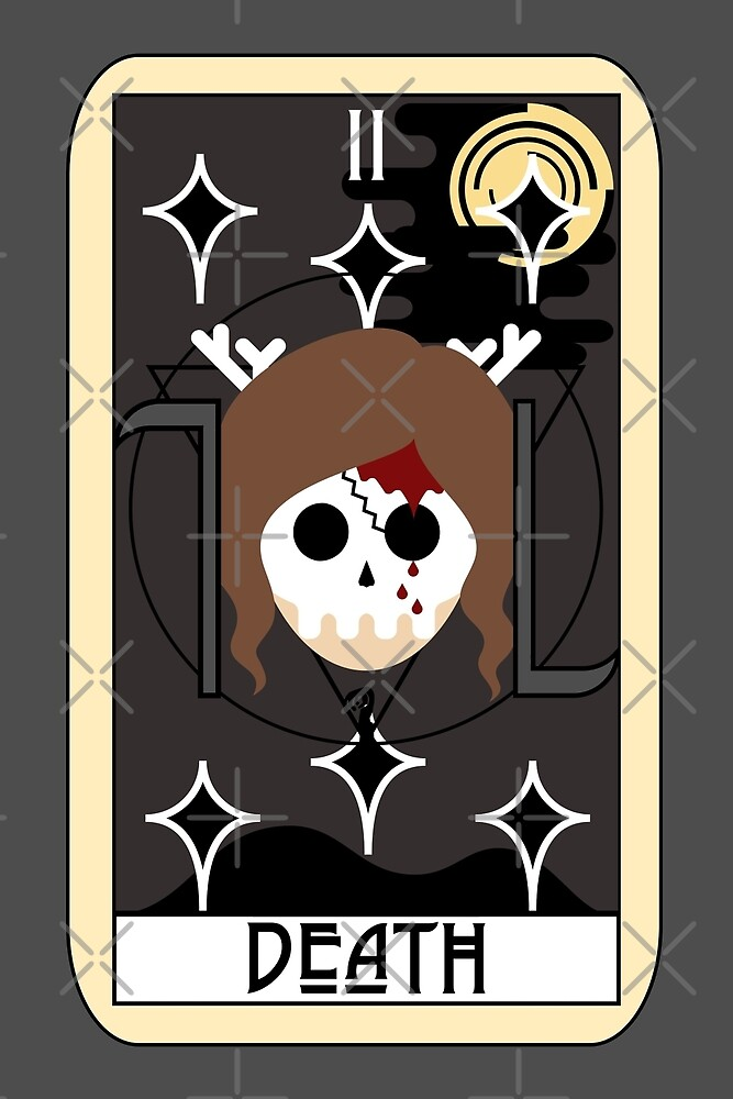 Death (Tarot Card II) by Mountain View Co.