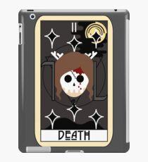 Death (Tarot Card II) iPad Case/Skin