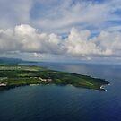 Flying Into Kauai by Barbara Morrison