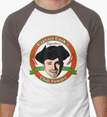 Captain Cook's Chili P Men's Baseball ¾ T-Shirt
