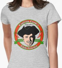 Captain Cook's Chili P Womens Fitted T-Shirt