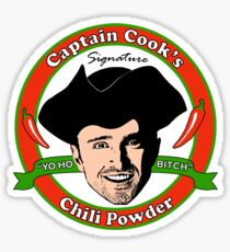 Captain Cook's Chili P Sticker
