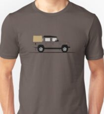 A Graphical Interpretation of the Defender 110 Double Cab Pick Up T-Shirt
