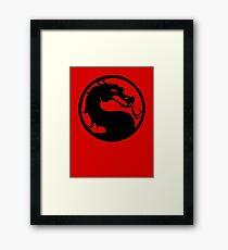 Mortal Dragon Framed Print