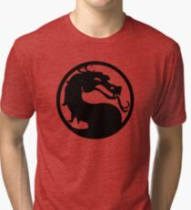 Mortal Dragon Tri-blend T-Shirt