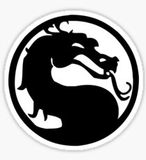 Mortal Dragon Sticker