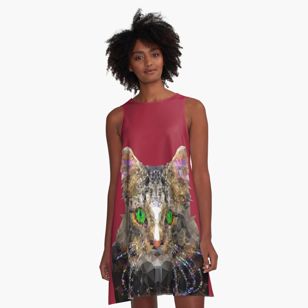Imperial Boss cat A-Line Dress